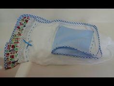 Toalha de Bebê c/ Capuz - Como Fazer?¹ Ateliê Decor D' Luxo - YouTube