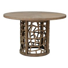"Found it at AllModern - Crackle 48"" Dining Table"