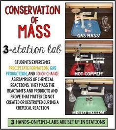 law of conservation examples