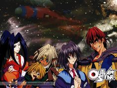 Outlaw Star, a great anime.