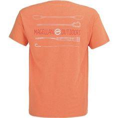 Magellan Outdoors Men s Outdoor Gear T-shirt (Orange Medium 875f1694d