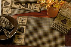 India Home Fashions Home Is Where Kitchen Decorating Theme