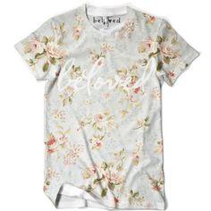 "Beloved Shirts ""Floral Tee"""
