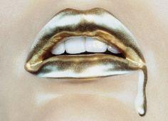Unique Lipstick Art Design Album VIA http://PinterestHeaven.Blogspot.com