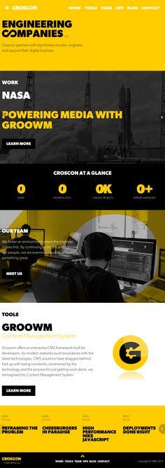 Website 'http://www.croscon.com/' snapped on Snapito.com