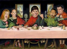 The Scientologists Last Supper