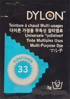 DYLON MULTI PURPOSE 5g KINGFISHER (33)