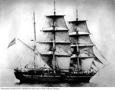 Charles W. Morgan Whaling Ship in 1920.