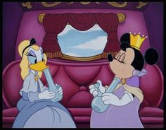 """The Sacred, The Profane, & Mickey: Disney Characters Become Historical Art In """"Profanity Pop."""" Minnie and Daisy partake in some weed smoking in this instance. Dark Disney, Disney Love, Disney Cast, Twisted Disney, Humour Disney, Pop Art, Princess Illustration, Alternative Disney, Punk Princess"""