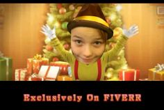 funnyvideomaker: make funny happy CHRISTMAS song video starring you for $5, on fiverr.com