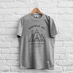 Penfield Teepee T-Shirt Grey Melange
