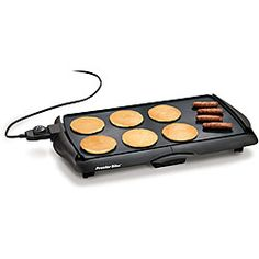 @Overstock - Proctor Silex 38513 Nonstick Electric Griddle - Electric grill from Proctor Silex features adjustable heat settingsKitchen appliance offers a nonstick cooking surface Griddle has removable drip tray and cool-touch handles http://www.overstock.com/Home-Garden/Proctor-Silex-38513-Nonstick-Electric-Griddle/4424268/product.html?CID=214117 $40.34