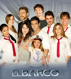 """El Barco """"The Ship"""" Spanish Tv Show. Such a pity they had to cancel it, and the finale wasn't good at all because of it. Starring: Mario Casas, Blanca Suarez. They are one of the top Spanish celebrities actually."""