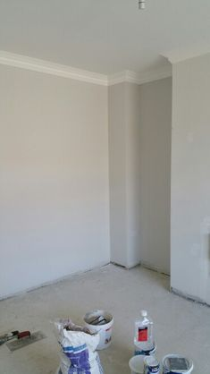 Mid cinder from Dulux. Perfect neutral paint. Not too warm, not too cold!