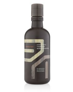 Aveda Men's Pure-Formance Conditioner - Clinically proven to leave scalp feeling calmer, healthier, less irritated and less itchy. Works with Pure-formanceTM Shampoo to soothe and relieve scalp while cleansing, conditioning, moisturizing and adding shine to hair.  $18.00  www.tavanisalonandspa.com  269.375.0270