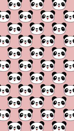 Tumblr Wallpaper, Panda Wallpaper Iphone, Pink Wallpaper Anime, Cute Panda Wallpaper, Panda Wallpapers, Cute Wallpaper For Phone, Cute Patterns Wallpaper, Bear Wallpaper, Emoji Wallpaper