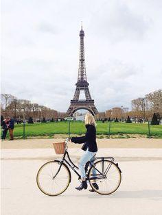 c11c34641 Follow Jessie Bush s Papillionaire vintage bike in Paris Urban Cycling