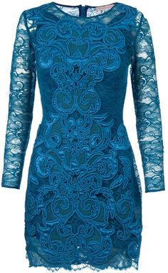 MATTHEW WILLIAMSON Lace Dress - Lyst