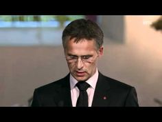 Subtitled speech by Prime Minister Jens Stoltenberg to the victims of the 2011 Norway attacks - YouTube