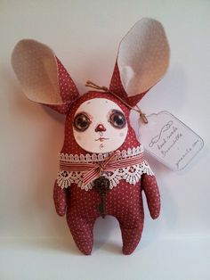 Hand made Bunndoll