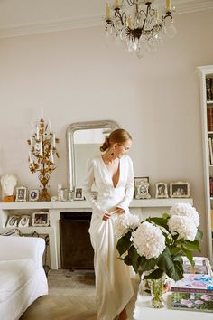 Stylist Alexandra Carl and Filmmaker Jacob John Harmer's Effortlessly Elegant Wedding in Copenhagen - Vogue wedding candles Stylist Alexandra Carl and Filmmaker Jacob John Harmer's Effortlessly Elegant Wedding in Copenhagen Sophisticated Wedding, Elegant Wedding, Dream Wedding, Wedding Day, Rustic Wedding, French Wedding Dress, Civil Wedding, Autumn Wedding, Wedding Events