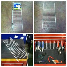 Build a simple, inexpensive, 100% customizable, aluminum pliers rack for your toolbox - The Garage Journal Board