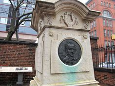 Baltimore, MD. The trials and tribulations of marking Poe's grave