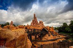 walt disney world big thunder mountain | ... clouds over Big Thunder Mountain at Walt Disney World's Magic Kingdom