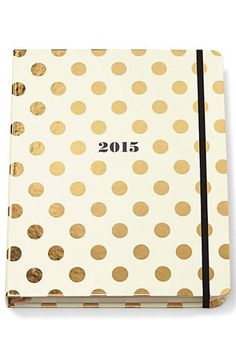 15 chic planners for 2015—because it's never too early to start planning in style.