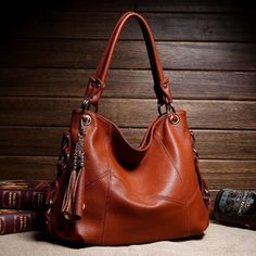Hot Women Tassel Messenger High Quality Genuine Leather One Shoulder / Handbags in Clothing, Shoes & Accessories, Women's Handbags & Bags, Handbags & Purses Fringe Handbags, Fall Handbags, Hobo Handbags, Shoulder Handbags, Fashion Handbags, Purses And Handbags, Fashion Bags, Shoulder Bags, Cheap Handbags