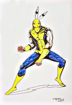 Superhero from South Borneo