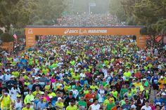 L A Marathon 2013!  I'm in there!