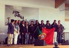 Portugal é campeão do mundo em equitação de trabalho. //  Seleção nacional conquistou o ouro em três das quatro provas de equipação.