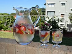 Summer Spritzer (non alcoholic). Find out how I made it at http://www.whatscookingella.com/blog/summer-spritzer