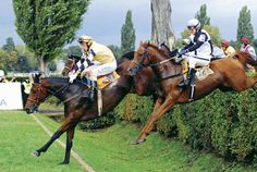 Jumping the Taxis at The Great Pardubice