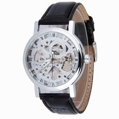 Aliexpress.com : Buy 2015 Luxury Brand Winner Relogio Male Hand winding Leather Band Skeleton Mechanical Wrist Watch For Men reloj hombre from Reliable strap perfect suppliers on Original Brand Watch Mall | Alibaba Group