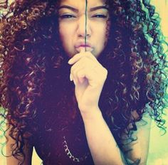 Love her curls. She uses the curly girl method.