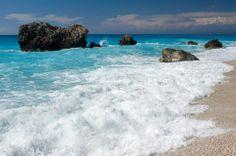 Gialos a beautiful beach at lefkada island