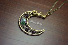 Moon necklace from ArtWen by DaWanda.com
