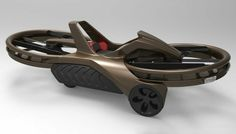 Aero-X Hoverbike - With two carbon fiber propellers fitted to the front and back, the hover bike is capable of flying up to ten feet above the ground and cruising at 45 miles per hour.And with maneuverability similar to that of a motorcycle, you can Drones, Hover Bike, Flying Vehicles, Mobiles, Anti Gravity, Flying Car, Ex Machina, Futuristic Cars, Futuristic Design