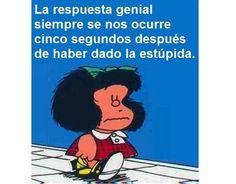The Nicest Pictures: mafalda Spanish Humor, Spanish Quotes, Funny Spanish, Mafalda Quotes, Wise Words, Decir No, Favorite Quotes, Laughter, Haha