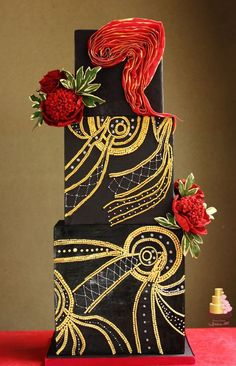 An Unconcious Dream Wedding Cake