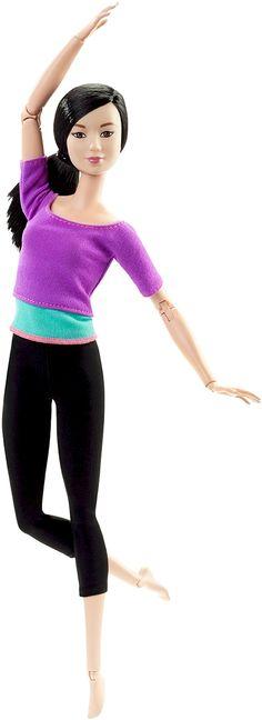 Barbie Made To Move Purple Top