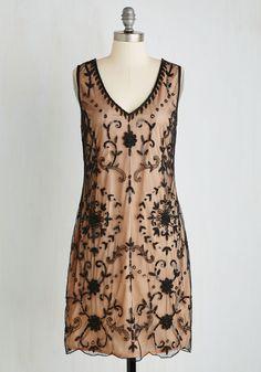 Bead It Dress in Chamoisee, @ModCloth