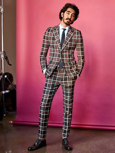 Dev Patel photographed by Victor DeMarchelier for GQ Magazine's January 2017 Issue.