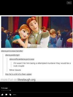And they would have the gingerest children ever Frozen Disney, Anna Frozen, Disney Pixar, Disney Fun, Disney And Dreamworks, Disney Animation, Disney Magic, Walt Disney, Frozen Hans