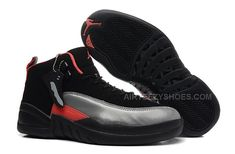9274c6913286e8 Girls Air Jordan 12 GS Black Grey Red For Womens Onlline For Sale from  Reliable Big Discount! Girls Air Jordan 12 GS Black Grey Red For Womens  Onlline For ...