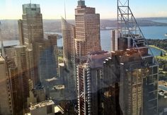 View of Sydney City from MLC Centre in Martin Place