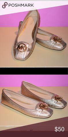 SOLD Michael Kors Lillie Logo Ballet