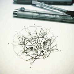 nice Geometric Tattoo - Tattoo2me - Um perfil totalmente dedicado a promover a arte da tatuagem e seus artistas! Compartil ...
